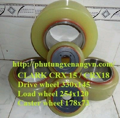 clark wheel set pu 5