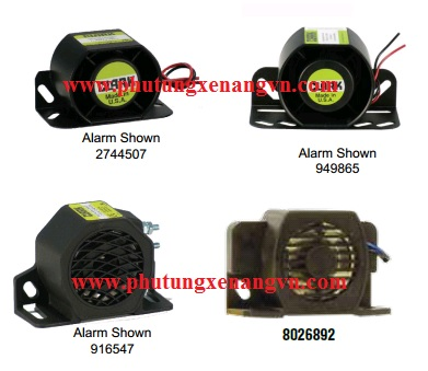 Back up alarms 910605