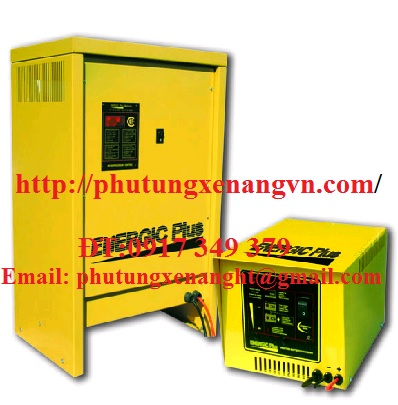 Traction battery chargers Linde forklift