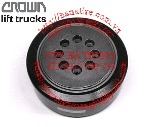 Crown forklift drive wheel 121501