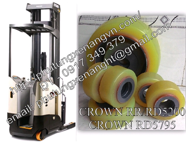 Crown wheel tire