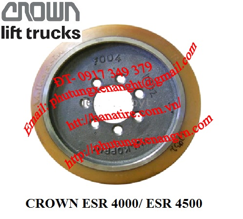 Drive wheel Crown 807557 drive wheel load wheel caster wheel Crown forklift