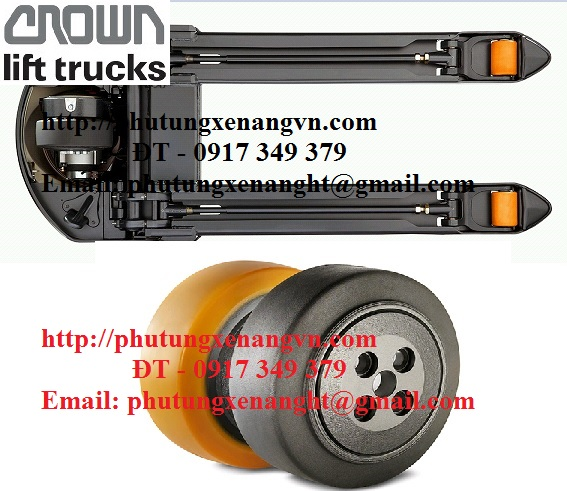 Load wheel PU Crown forklift 125070