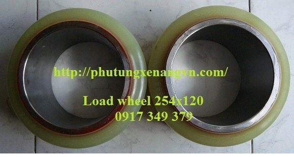 Load wheel PU 254*114*180